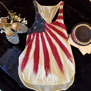 {Others Follow} Patriotic Top